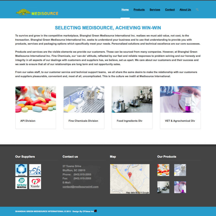 Portfolio 卡菲科技 Cfideas 纽约网页设计公司 718 961 2930